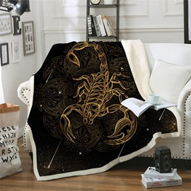 Skin Friendly Portable Double Thickened CottonVelvet Warm Blankets