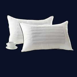 Soft and Comfortable One Pair Cotton Bed Pillows