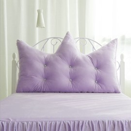 Alternative Soft Purple Velvet Decoration Backrest Cushion