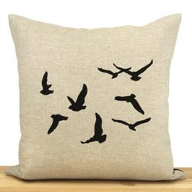 Amazing Gorgeous Wild Goose Pattern Throw Pillow