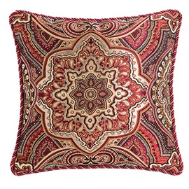 Asymmetric Beauty and Western Style Throw Pillow