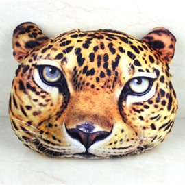 New Arrival Lovely 3D Leopard Style Throw Pillow