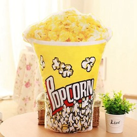 Popular Popcorn Design Soft Decorative Throw Pillow