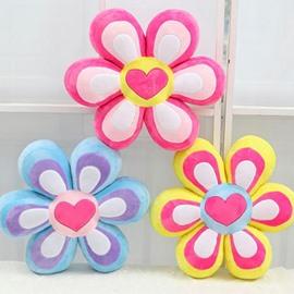 Adorable Five-petal Flowers Design Soft Throw Pillow
