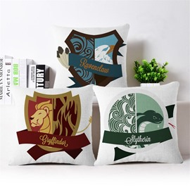Creative Design Animal Print Square Throw Pillow