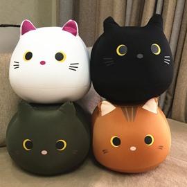 Cat Shape Plush Toys Nano Foam Particles Stuffed Squishy Throw Pillows