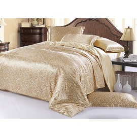 Noble Paisley 4-Piece Cream Duvet Cover Sets