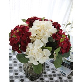 New Arrival A Branch of Lovely Hydrangea Decorative Artificial Flowers