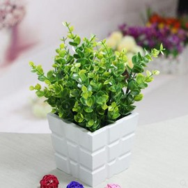 Popular Pretty Eucalyptus Leaves Flowers Set