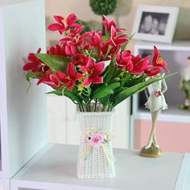 Wonderful Artificial Flowers Multi-Color Lily Flower Sets