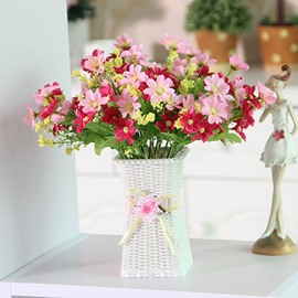 Pretty Artificial Flowers Daisy Table Flower Set