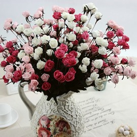 Beautiful Little Rose Bouquet Home Decorative Artificial Flowers