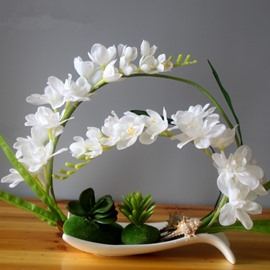 Fresh Modern Design Phalaenopsis Orchid Artificial Flower Sets
