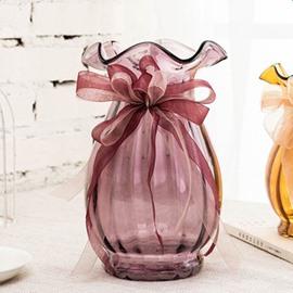 Stunning Creative Design Purple Glasses Home Decorative Flower Vase