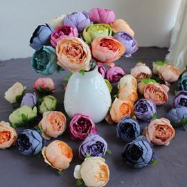 DIY Decoration Style Peony Silk European Style Artificial Flower