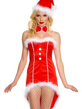 High Class Sexy Dress Christmas Costume