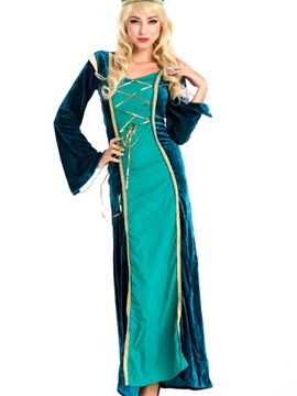 Beautful Princess Of Arabic Long Dress Full Costume