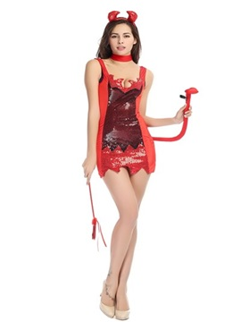 Popular Red Elf Modeling Lovely Special Design Cosplay Costumes