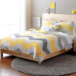 Unique ChevronPrint Cotton Bed in a Bag Set