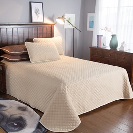 Solid Color Simple Style 3-Piece Bed in a Bag