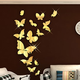 Gorgeous Mirror Effect Butterfly Wall Sticker