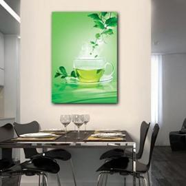 New Arrival Lovely Green Tea Print Cross Film  Wall Art Prints
