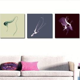 New Arrival Elegant Special Patterns Print 3-piece Cross Film Wall Art Prints