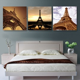 New Arrival Magnificent Eiffel Tower Cross Film Wall Art Prints