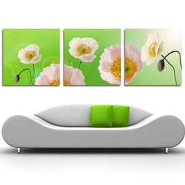 New Arrival Pink Gorgeous Flowers Cross Film Wall Art Prints