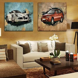 New Arrival Stunning Luxuriant Cars Film Wall Art Prints