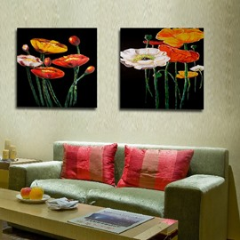 New Arrival Lotus With Different Colors And Shapes Film Wall Art Prints