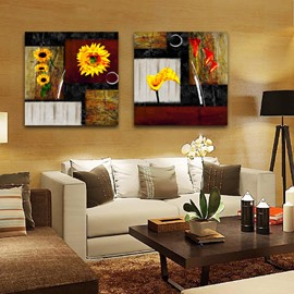 New Arrival Sunflowers Toward Sunshine Film Wall Art Prints