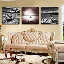 New Arrival  Unique Ship And Dark Clouds Film Wall Art Prints