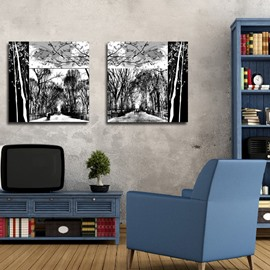 New Arrival Oil Painting With Scenery Film Wall Art Prints