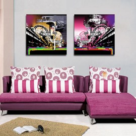 New Arrival Busy Street Film Wall Art Prints