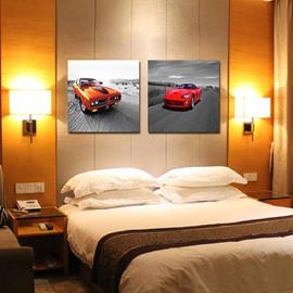 New Arrival Modern Red Cars Film Wall Art Prints