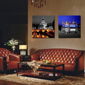 New Arrival Night City Scene Film Art Wall Prints