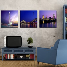 New Arrival Fantabulous City Night Film Art Wall Prints