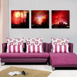New Arrival Fantastic Fireworks Film Art Wall Prints