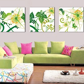 New Arrival Curly Leaves Canvas Wall Prints