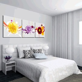 Amazing Various Colorful and Fancy Flowers Canvas Wall Art Prints