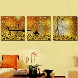 New Arrival People Sitting on Carriage Canvas Wall Prints