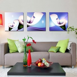New Arrival Blooming and Delicate White Flowers Canvas Wall Prints