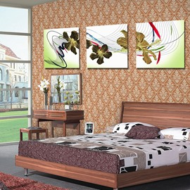 New Arrival Special Flowers and Geometric Figure Canvas Wall Prints