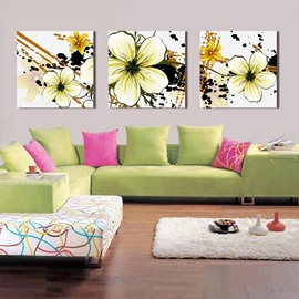 New Arrival White Petal Canvas Wall Prints