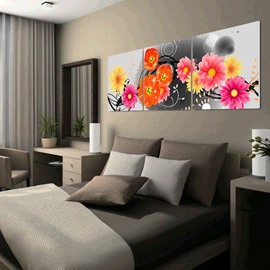 New Arrival Fragrant and Lovely Flowers Canvas Wall Prints