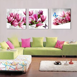 Beautiful Butterflies on Magnolia Film Art Wall Prints