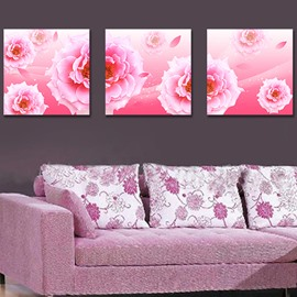 Quality Gorgeous Pretty Pink Flowers Film Art Wall Prints