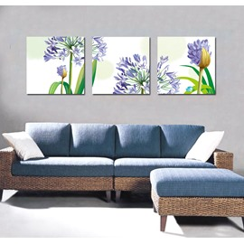 Pretty Flattering Purple Flowers Film Art Wall Prints