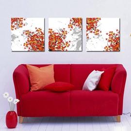Pretty Elegant Maple Leaves Film Art Wall Prints